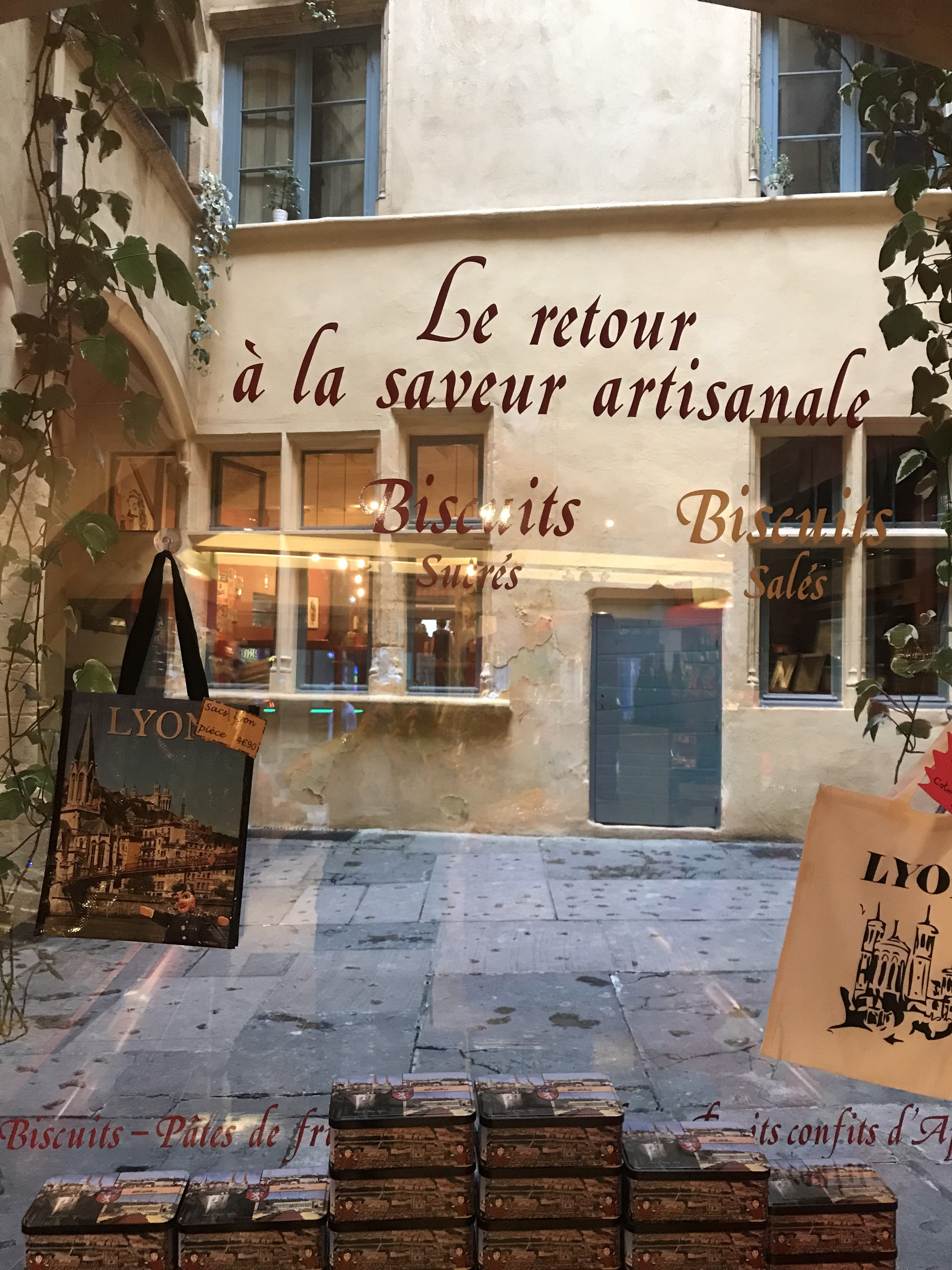 Traboule magasin