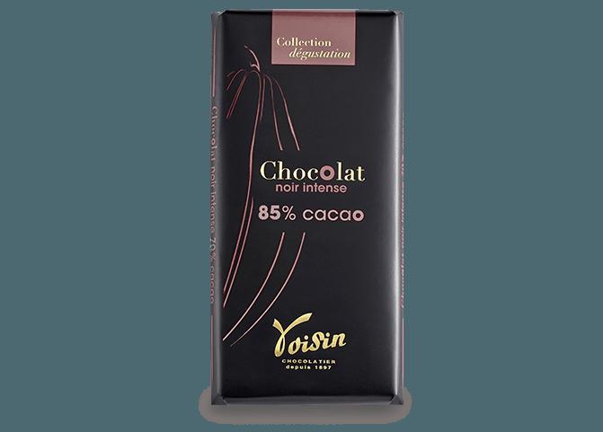 Tablettes Noir Intense 85% Cacao